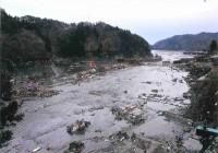 第四波により防潮堤決壊消えてしまった町内