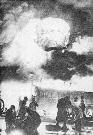 品川勝島倉庫爆発火災